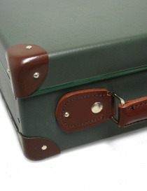 Original 13'' Globe Trotter mini utility suitcase