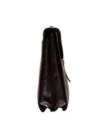 Il Bisonte Raffaello brown leather briefcase