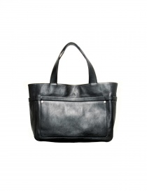 Black leather Il Bisonte bag - limited edition