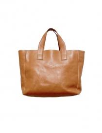 Ochre leather Il Bisonte bag 1 BISONTE order online
