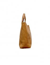 Ochre leather Il Bisonte bag