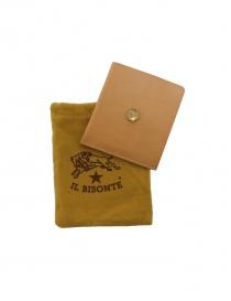 Light brown leather Il Bisonte wallet C0646 P NEUT order online