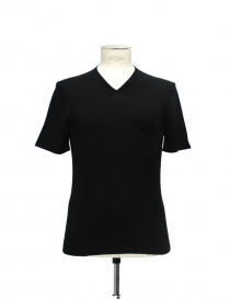 Adriano Ragni black T-shirt 21ARTS02-CO1 order online