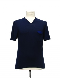 T-shirt Adriano Ragni colore blu 21ARTS02-CO1 order online