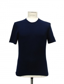 T-shirt Adriano Ragni colore blu 21ARTS01-CO1 order online