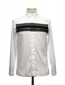 White shirt Cy Choi with black stripe CA35S04AWH00 order online