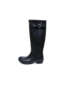 Hunter navy boots