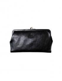 Portafoglio Il Bisonte in pelle nera C0671-P-135N order online