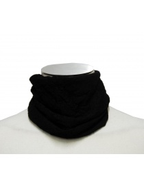 Scarves online: Label Under Construction wrinkled collar