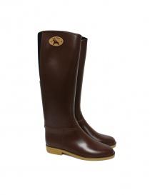 Dafna Brown Rubber Boots Stivali Marr order online