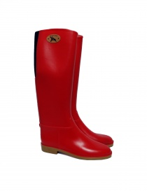 Dafna Red Rubber Boots Stivali Ross order online