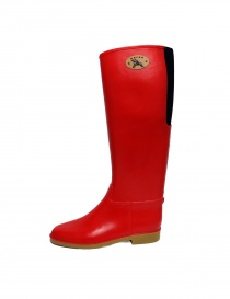 Dafna Red Rubber Boots