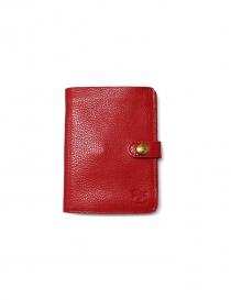 Portafoglio Il Bisonte in pelle rossa C0343 P 134 order online