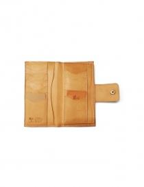 Natural leather wallet Il Bisonte