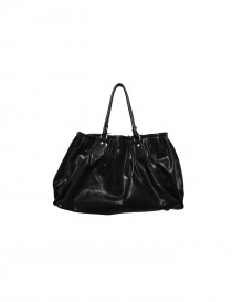 Delle Cose bright black leather bag 2189 VACCHET order online