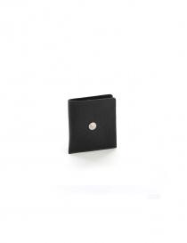 Portafoglio nero Ghost Il Bisonte CO646 P 153 order online