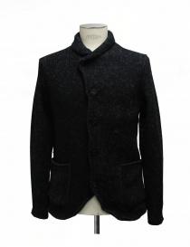 Mens coats online: Label Under Construction Crescent Collar Carded jacket