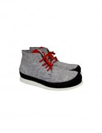 Essence grey ankle boots Z09 FELTRO G order online