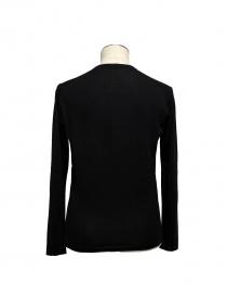 Black V-neck pullover Adriano Ragni