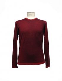 Red pullover Adriano Ragni 7ARSW22-PC-W order online