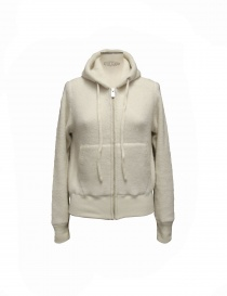 Side Slope white pullover with hood SLL20-L073-0 order online