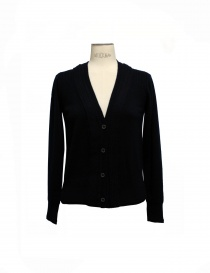 Cardigan Side Slope colore nero SLL 20-L031 order online