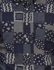 Gitman Bros patchwork shirt