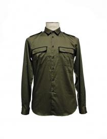 Cy Choi shirt military green CA47S10AKK00
