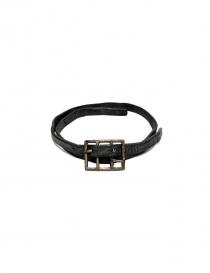 Cinture online: Cintura Carol Christian Poell Diverging colore grigio
