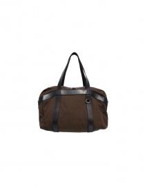 Sak canvas and leather Bag 007 MARRONE order online