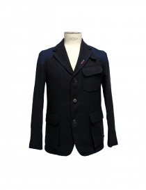 Giacca Nigel Cabourn Class Mallory JK1-BLK-NAVY order online