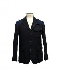 Nigel Cabourn Class Mallory jacket JK1-BLK-NAVY order online