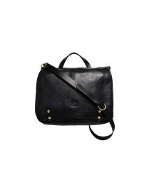 Il Bisonte Vincent black leather briefcase D305-P-153 order online