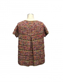 Coohem pink pullover in Yonetomi fabric