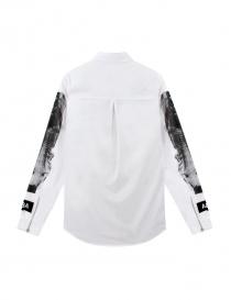 Camicia Hood By Air colore bianco e nero