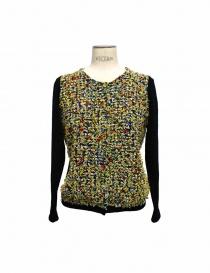 Maglia Coohem in tessuto Yonetomi colore giallo 151-012-10 order online