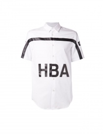 Camicia Hood By Air colore bianco PS15WT21A-WH order online