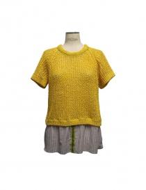 Maglia Iaponia colore giallo 15S26S-YELLO order online