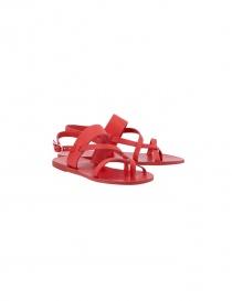 Ancient Greek Sandals Alethea red sandals ALETHEA-POPP order online