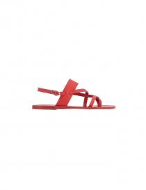 Ancient Greek Sandals Alethea red sandals