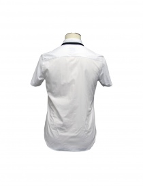 SHIRT CY CHOI short sleeves with knitted collar