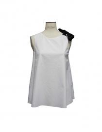 Sara Lanzi white top TA1 CO01 A/1 order online