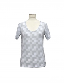 Womens t shirts online: SIDE SLOPE SWEATER light grey