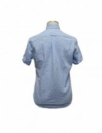 Camicia Gitman Bros a righe azzurre