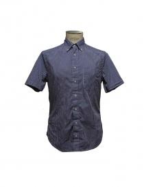 Camicia Gitman Bros a quadretti blu GU21 M407 41 order online