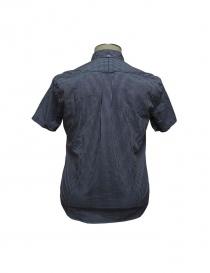 Camicia Gitman Bros a quadretti blu
