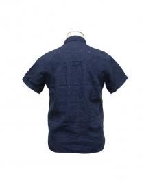 Camicia Nigel Cabourn colore blu