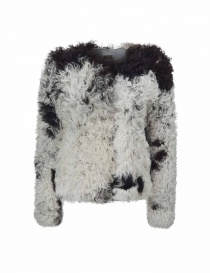 Womens suit jackets online: Utzon lamb fur jacket