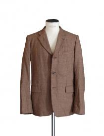 Giacca a 3 bottoni Comme des Garcons Homme Plus color cammello PF-J032-051 order online
