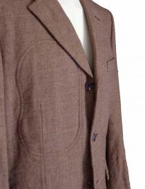 3 buttons jacket in camel Comme des Garcons Homme Plus